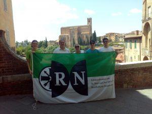 RN in SIenna, Italien (ca. 935 km)