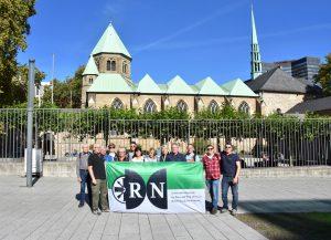 RN vor dem Essener Dom (ca. 60 km)
