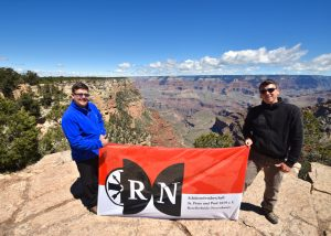 RN am Grand Canyon, USA (ca. 8.633 km)