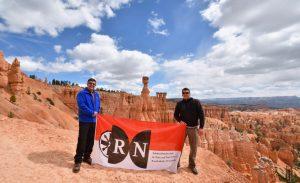 RN vor Thor's Hammer im Bryce Canyon, USA (ca. 8.498 km)