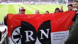 RN im Dreisamstadion in Freiburg (ca. 480 km) (1:2 Auswärtssieg Fortuna)