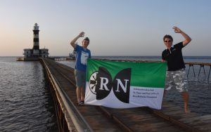 RN am Daedalus Reef, Ägypten (ca. 3819 km)
