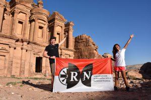 RN in Petra, Jordanien (ca. 3307 km)