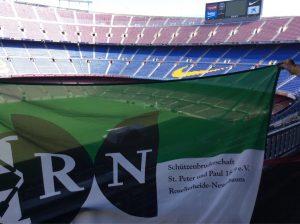 RN im Camp Nou, Barcelona (ca. 1140 km)