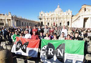 RN vor dem Petersdom, Rom (ca. 1.116 km)