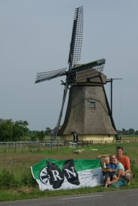RN in Workum, Holland (ca. 224 km)