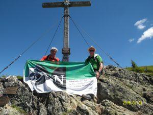 RN auf 2011 Metern Höhe auf der Schwalbenwand (ca. 611 km)
