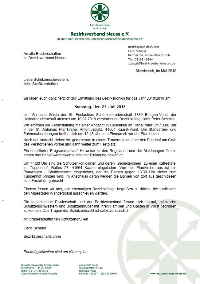 Einladung BKS
