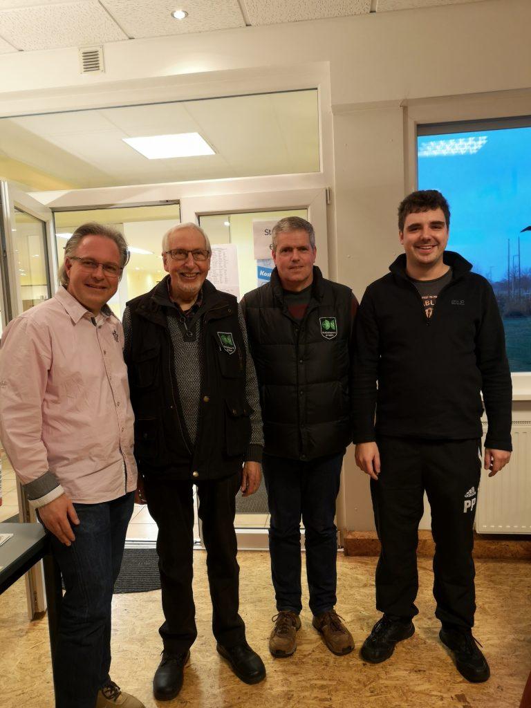 vlnr: 4. Platz Dirk herberholz, 1. Horst Clemens, 3. Christoph Piel, 2. Phillip Poschmann