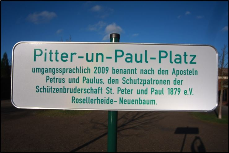 Pitter-un-Paul-Platz Pflege 2019