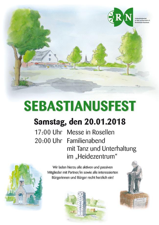 Sebastianusmesse und -fest am 20. Januar 2018