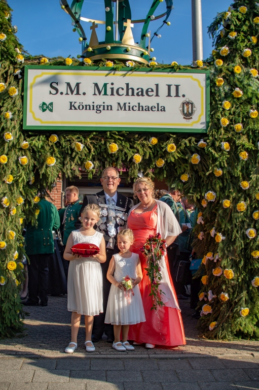 Schützenfest 2018 – Michael II. sucht seinen Fips