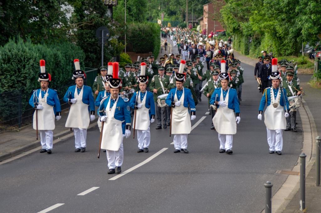 Bezirksschützenfest am 5. August